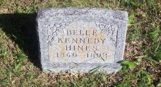 KENNEDY HINES, ISABELL F. (BELL) - Parker County, Texas | ISABELL F. (BELL) KENNEDY HINES - Texas Gravestone Photos
