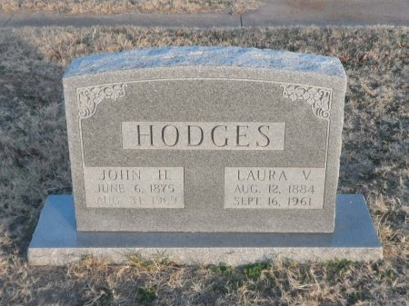 HODGES, LAURA VIOLA SLAGLE - Parker County, Texas | LAURA VIOLA SLAGLE HODGES - Texas Gravestone Photos