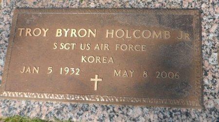 HOLCOMB, JR (VETERAN KOR), TROY BYRON - Parker County, Texas | TROY BYRON HOLCOMB, JR (VETERAN KOR) - Texas Gravestone Photos