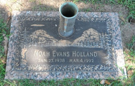 HOLLAND, NOAH EVANS SR. - Parker County, Texas | NOAH EVANS SR. HOLLAND - Texas Gravestone Photos