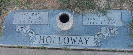 HOLLOWAY, IVA - Parker County, Texas | IVA HOLLOWAY - Texas Gravestone Photos