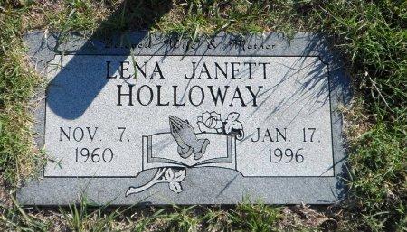 JONES HOLLOWAY, LENA JANETT - Parker County, Texas | LENA JANETT JONES HOLLOWAY - Texas Gravestone Photos