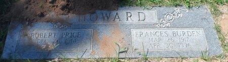 HOWARD, ROBERT PRICE - Parker County, Texas | ROBERT PRICE HOWARD - Texas Gravestone Photos
