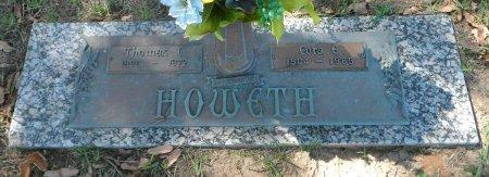 HOWETH, CORA E. - Parker County, Texas | CORA E. HOWETH - Texas Gravestone Photos