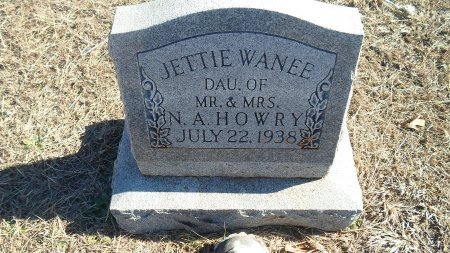 HOWRY, JETTIE WANEE - Parker County, Texas | JETTIE WANEE HOWRY - Texas Gravestone Photos