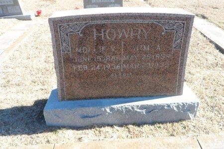 BARNES HOWRY, MARY VANDELLA - Parker County, Texas   MARY VANDELLA BARNES HOWRY - Texas Gravestone Photos