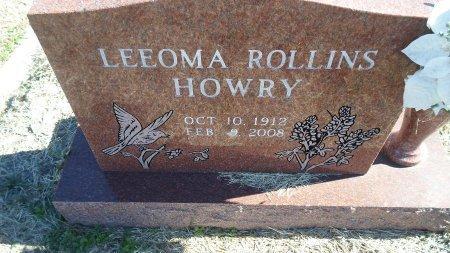 HOWRY, LEEOMA - Parker County, Texas   LEEOMA HOWRY - Texas Gravestone Photos