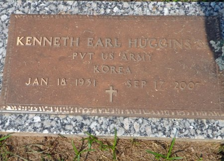 HUGGINS, SR (VETERAN KOR), KENNETH EARL - Parker County, Texas | KENNETH EARL HUGGINS, SR (VETERAN KOR) - Texas Gravestone Photos
