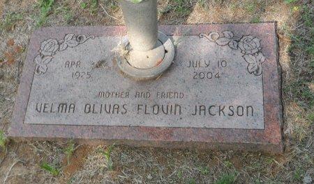 JACKSON, VELMA OLIVAS - Parker County, Texas   VELMA OLIVAS JACKSON - Texas Gravestone Photos