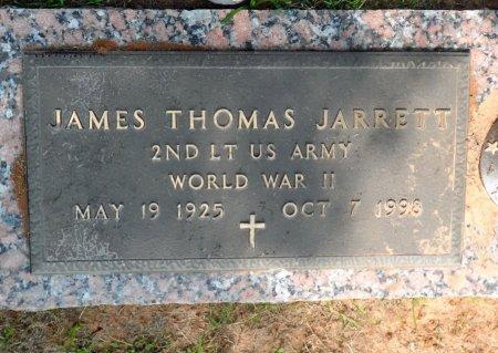 JARRETT (VETERAN  WWII), JAMES THOMAS - Parker County, Texas | JAMES THOMAS JARRETT (VETERAN  WWII) - Texas Gravestone Photos