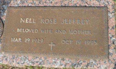 JEFFREY, NELL - Parker County, Texas   NELL JEFFREY - Texas Gravestone Photos
