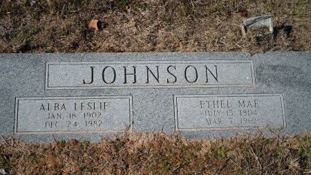 JOHNSON, ETHEL MAE - Parker County, Texas | ETHEL MAE JOHNSON - Texas Gravestone Photos