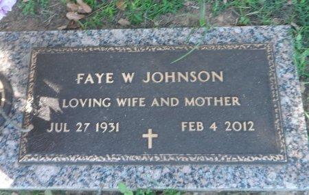 WATSON JOHNSON, FAYE - Parker County, Texas | FAYE WATSON JOHNSON - Texas Gravestone Photos