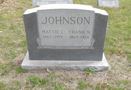JOHNSON, MATTIE EVELYN - Parker County, Texas | MATTIE EVELYN JOHNSON - Texas Gravestone Photos