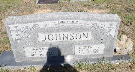 JOHNSON, HOWARD FRANKLIN - Parker County, Texas | HOWARD FRANKLIN JOHNSON - Texas Gravestone Photos