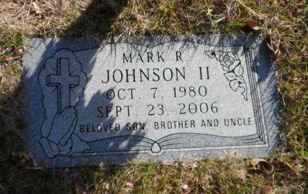 JOHNSON, II, MARK ROBERT - Parker County, Texas | MARK ROBERT JOHNSON, II - Texas Gravestone Photos