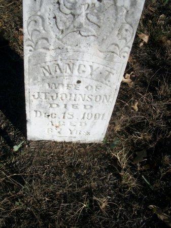 JOHNSON, NANCY T. - Parker County, Texas | NANCY T. JOHNSON - Texas Gravestone Photos