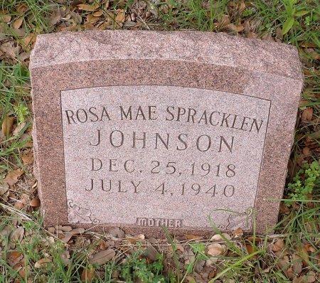 JOHNSON, ROSA MAE - Parker County, Texas | ROSA MAE JOHNSON - Texas Gravestone Photos