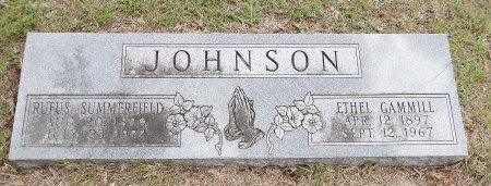 JOHNSON, ETHEL - Parker County, Texas | ETHEL JOHNSON - Texas Gravestone Photos