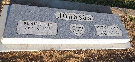 JOHNSON, RICHARD GLEEN - Parker County, Texas | RICHARD GLEEN JOHNSON - Texas Gravestone Photos