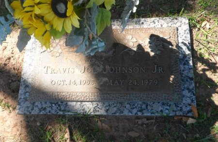 JOHNSON, JR., TRAVIS JOE - Parker County, Texas | TRAVIS JOE JOHNSON, JR. - Texas Gravestone Photos