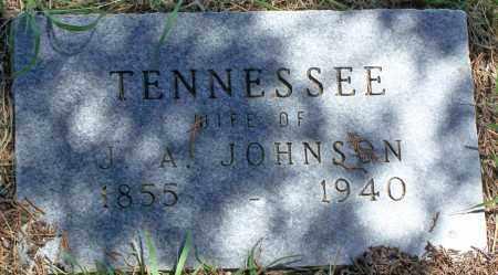 JOHNSON, TENNESSEE - Parker County, Texas   TENNESSEE JOHNSON - Texas Gravestone Photos