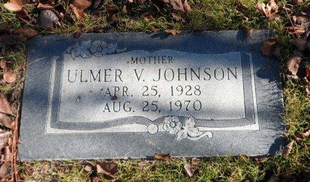 JOHNSON, ULMER VIRGINIA - Parker County, Texas   ULMER VIRGINIA JOHNSON - Texas Gravestone Photos