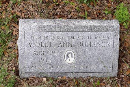JOHNSON, VIOLET ANN - Parker County, Texas   VIOLET ANN JOHNSON - Texas Gravestone Photos