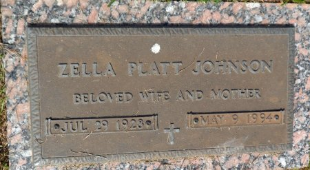 JOHNSON, ZELLA MAE - Parker County, Texas | ZELLA MAE JOHNSON - Texas Gravestone Photos