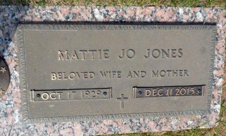 JONES, MATTIE JO - Parker County, Texas   MATTIE JO JONES - Texas Gravestone Photos