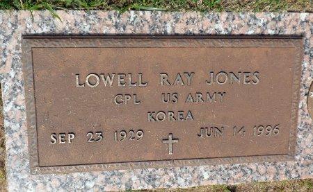 JONES (VETERAN  KOR), LOWELL RAY - Parker County, Texas | LOWELL RAY JONES (VETERAN  KOR) - Texas Gravestone Photos
