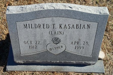 KASABIAN, MILDRED THELMA - Parker County, Texas | MILDRED THELMA KASABIAN - Texas Gravestone Photos