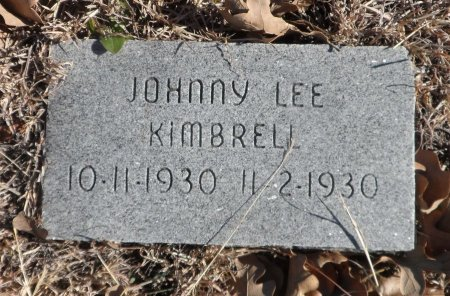 KIMBRELL, JOHNNY LEE - Parker County, Texas | JOHNNY LEE KIMBRELL - Texas Gravestone Photos