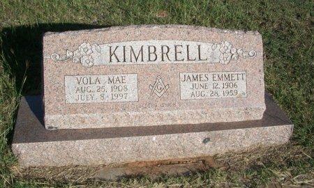 KIMBRELL, JAMES EMMETT - Parker County, Texas   JAMES EMMETT KIMBRELL - Texas Gravestone Photos