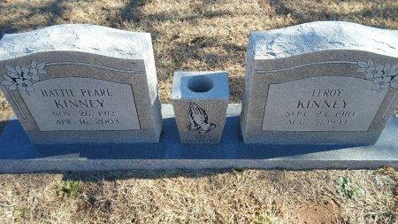 KINNEY, HATTIE PEARL - Parker County, Texas | HATTIE PEARL KINNEY - Texas Gravestone Photos
