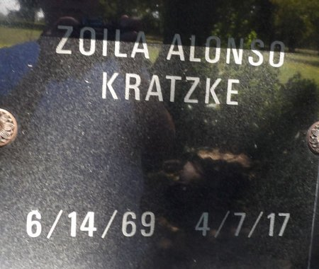 KRATZKE, ZOILA ALONSO - Parker County, Texas | ZOILA ALONSO KRATZKE - Texas Gravestone Photos