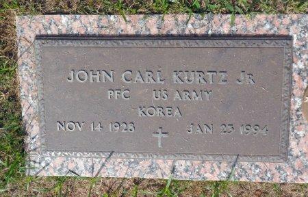 KURTZ, JR (VETERAN  KOR), JOHN CARL - Parker County, Texas | JOHN CARL KURTZ, JR (VETERAN  KOR) - Texas Gravestone Photos