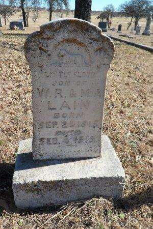 LAIN, FLOYD - Parker County, Texas | FLOYD LAIN - Texas Gravestone Photos