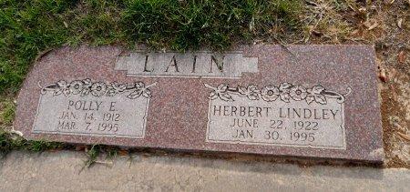 HARRIS LAIN, POLLY EUNICE - Parker County, Texas | POLLY EUNICE HARRIS LAIN - Texas Gravestone Photos