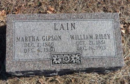 LAIN, WILLIAM RILEY - Parker County, Texas | WILLIAM RILEY LAIN - Texas Gravestone Photos