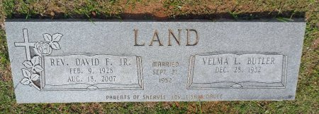 LAND, DAVID FRANKLIN JR. - Parker County, Texas | DAVID FRANKLIN JR. LAND - Texas Gravestone Photos
