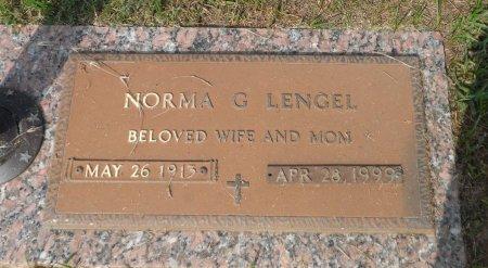 LENGEL, NORMA GRACE - Parker County, Texas   NORMA GRACE LENGEL - Texas Gravestone Photos