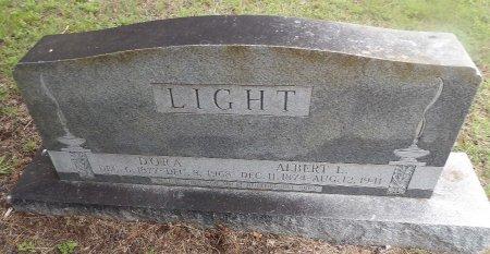 LIGHT, DORA ERRA - Parker County, Texas   DORA ERRA LIGHT - Texas Gravestone Photos