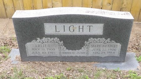 LIGHT, MARY - Parker County, Texas | MARY LIGHT - Texas Gravestone Photos