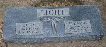 LIGHT, PLEASANT GREEN - Parker County, Texas   PLEASANT GREEN LIGHT - Texas Gravestone Photos