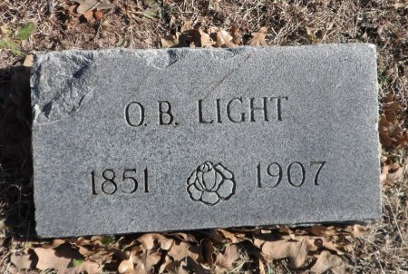 LIGHT, WILLIAM OBEDIAH - Parker County, Texas   WILLIAM OBEDIAH LIGHT - Texas Gravestone Photos