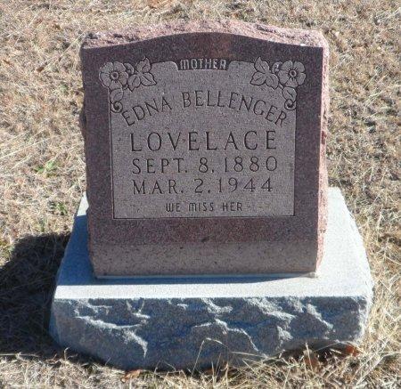 BELLENGER LOVELACE, EDNA JOSEPHINE - Parker County, Texas | EDNA JOSEPHINE BELLENGER LOVELACE - Texas Gravestone Photos