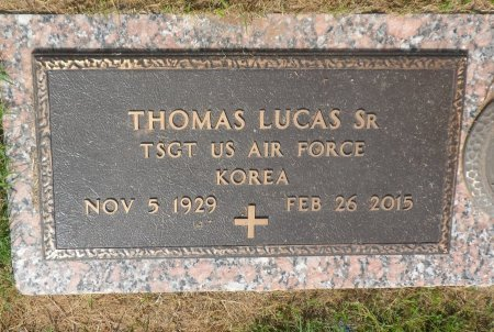 LUCAS, SR (VETERAN KOR), THOMAS - Parker County, Texas | THOMAS LUCAS, SR (VETERAN KOR) - Texas Gravestone Photos