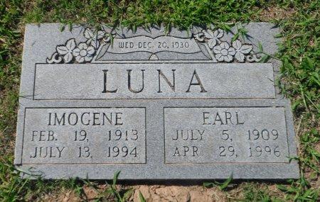 LUNA, EARL - Parker County, Texas | EARL LUNA - Texas Gravestone Photos