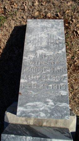 MACE, ALICE - Parker County, Texas | ALICE MACE - Texas Gravestone Photos
